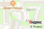 Схема проезда до компании Меларис в Москве