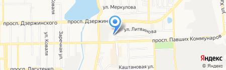 Донецкая общеобразовательная школа I-III ступеней №10 на карте Донецка