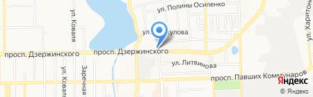 Нотариус Ерёмина М.В. на карте Донецка
