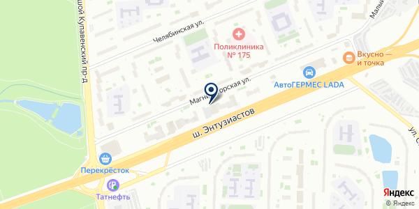 Банкомат, Московский кредитный банк, ПАО на карте Москве