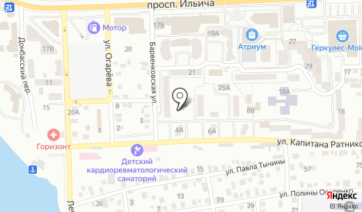 Квартал. Схема проезда в Донецке