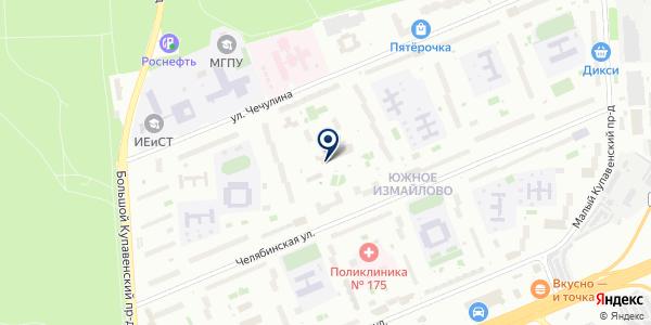 Магнит-Косметик на карте Москве