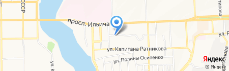 Альфа-Дом на карте Донецка
