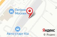 Схема проезда до компании Ярило в Дзержинском