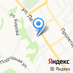 Банк Русский стандарт на карте Старого Оскола