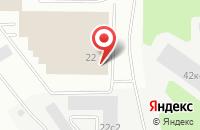 Схема проезда до компании Дельта Дистрибьюшен в Дзержинском
