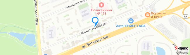 Магнитогорская улица