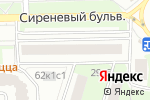 Схема проезда до компании Булочная-кондитерская в Москве