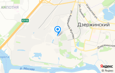 Местоположение на карте пункта техосмотра по адресу Московская обл, г Дзержинский, ул Садовая, д 3