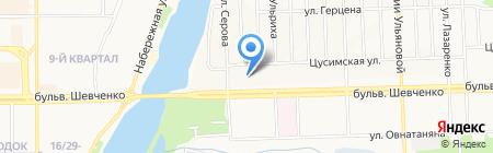 Факториал Донецк на карте Донецка