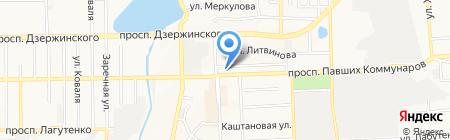 МЕГАПРИНТSERVICE на карте Донецка