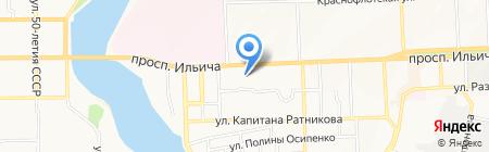 BTV group на карте Донецка