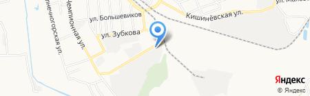 Профнастил-МВ на карте Донецка