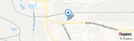 Victoria на карте Донецка