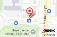 Схема проезда до компании Монолитстрой в Москве