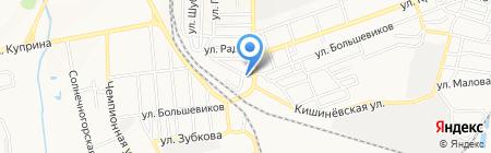 Парикмахерская на карте Донецка