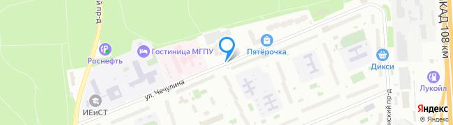 улица Чечулина
