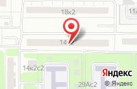Схема проезда до компании Декоррусс в Москве