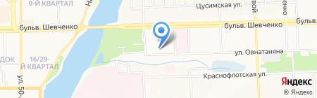 Виртуальные технологии на карте Донецка