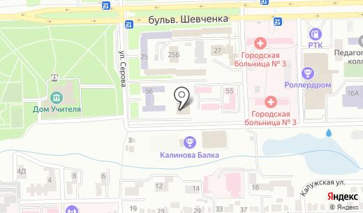 Виртуальные технологии. Схема проезда в Донецке