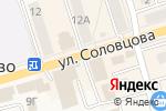 Схема проезда до компании Дикси в Болохово