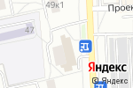 Схема проезда до компании Магазин штор в Москве
