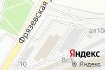 Схема проезда до компании Асвега-комплект в Москве