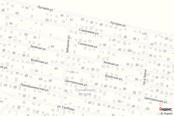 Ремонт телевизоров Улица Зеленая на яндекс карте