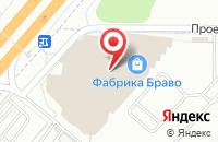 Схема проезда до компании bravodoor в Дзержинском