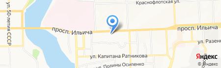 Дом Кофе на карте Донецка