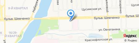 Ом-сервис на карте Донецка