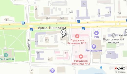 Компания по вопросам охраны труда. Схема проезда в Донецке