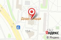 Схема проезда до компании АйсМедиа в Москве
