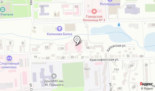 Керамет. Схема проезда в Донецке
