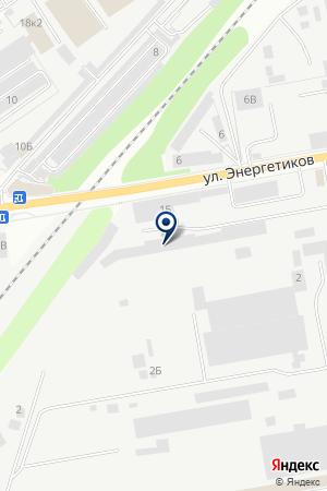 ОБЩЕЖИТИЕ МОСЭНЕРГОСТРОЙ на карте Дзержинского