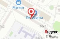 Схема проезда до компании Робинс-Центр в Москве