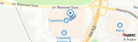 Восточное на карте Москвы