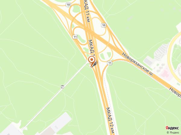 Остановка «11-й км.», 11-й км километр Московской Кольцевой Автодороги (7802) (Москва)