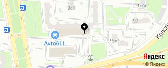 Автоспейс на карте Москвы