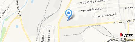 Транспортная компания на карте Донецка