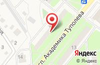 Схема проезда до компании Продукты-М в Домодедово