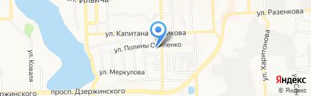 Донецкая общеобразовательная школа I-III ступеней №7 на карте Донецка