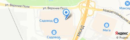 Sharm на карте Москвы
