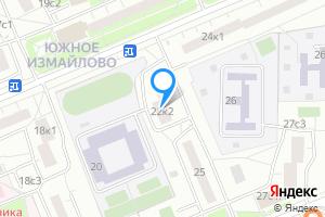 Двухкомнатная квартира в Москве Челябинская ул., 22к2