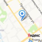 ТД ТЕХНОСФЕРА на карте Старого Оскола