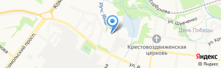 Фрекен Бок на карте Старого Оскола