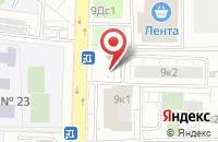 Схема проезда до компании Лабвнииркомплект в Москве