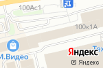 Схема проезда до компании Актант в Москве