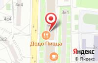 Схема проезда до компании Акмос в Москве