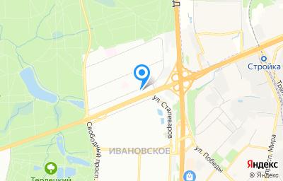 Местоположение на карте пункта техосмотра по адресу г Москва, ш Энтузиастов, д 59
